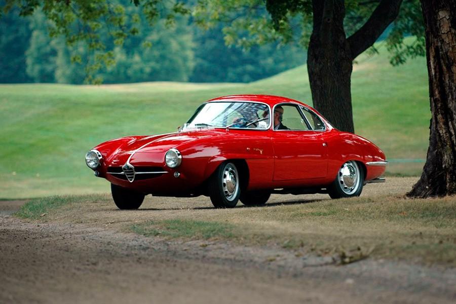 El Sprint Speciale es casi un concept car llevado a la serie.