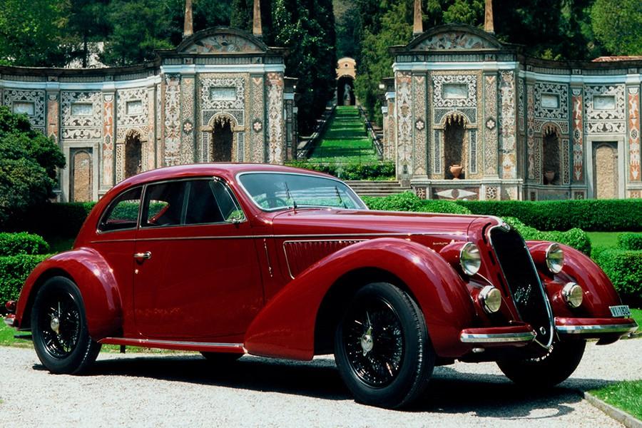 El Alfa Romeo 6C 2300 Mille Miglia es sólo una de las decenas de joyas de Alfa Romeo.