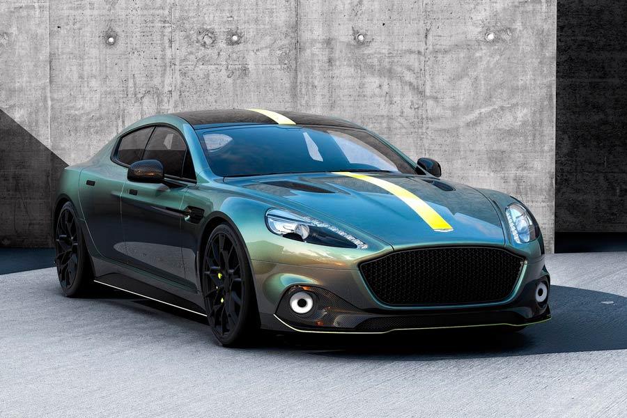 Aston Martin Rapide AMR: edición militada para celebrar el regreso de la marca a Le Mans