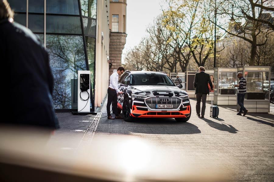 Audi vincula así la recarga de tu coche eléctrico y tu casa