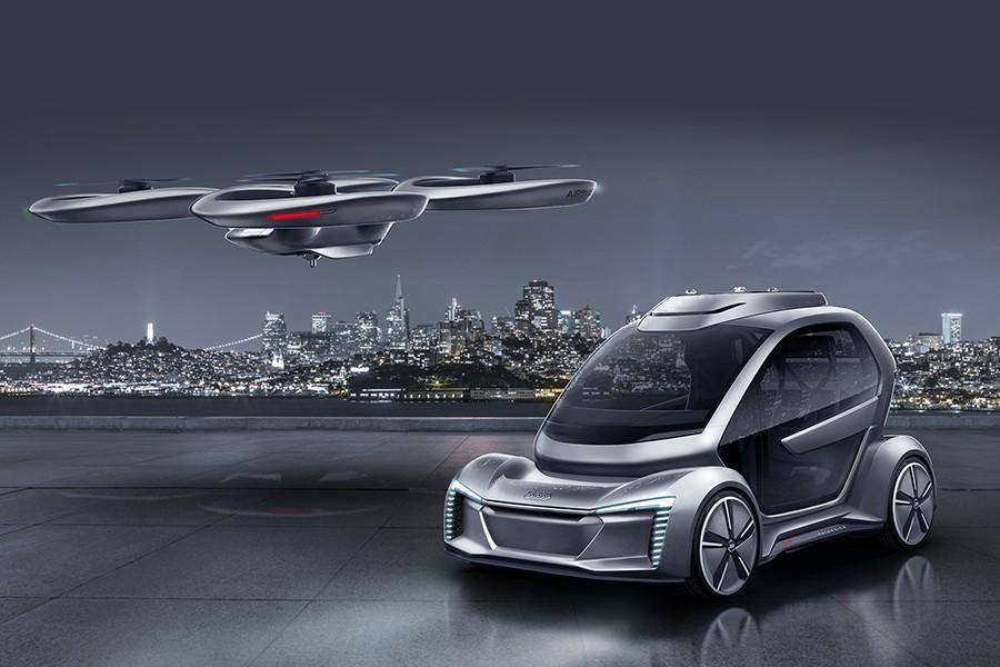 Empiezan las pruebas del taxi aéreo de Audi en Alemania