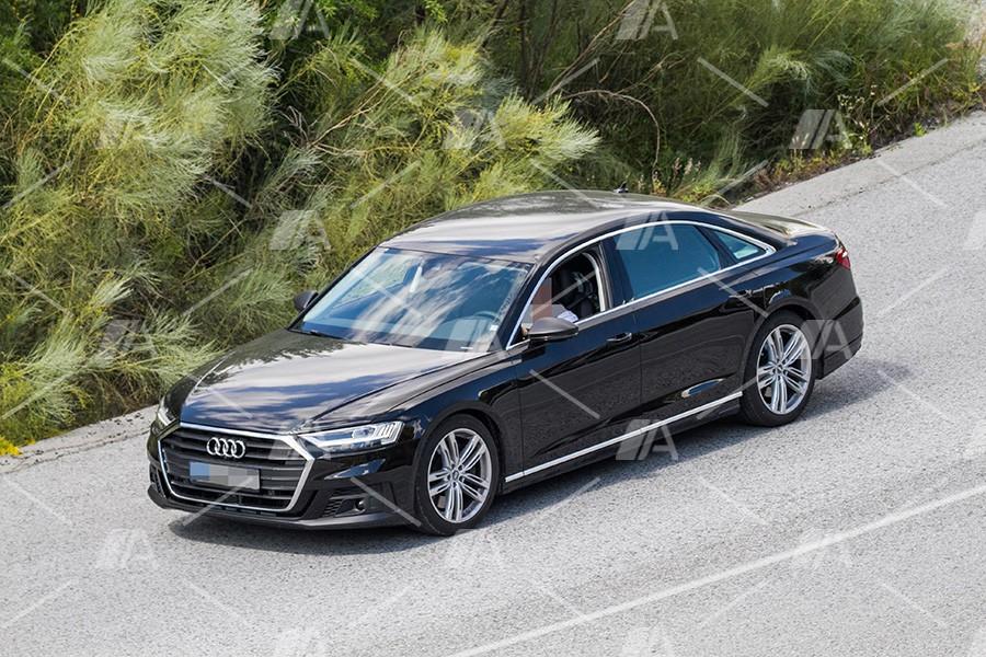 Fotos espía del nuevo Audi S8 2019