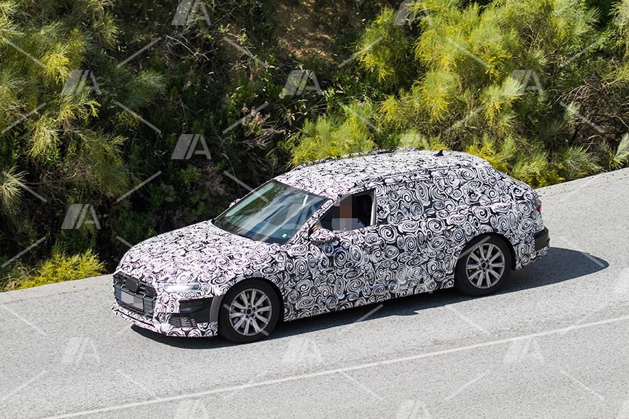 Fotos espía del nuevo Audi A6 Allroad 2019