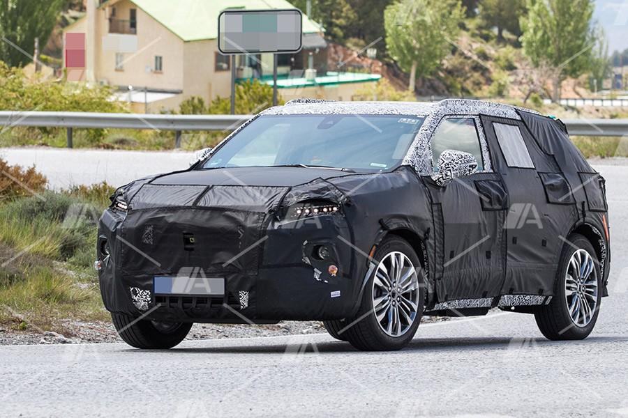 Fotos espía del nuevo Chevrolet Blazer 2020