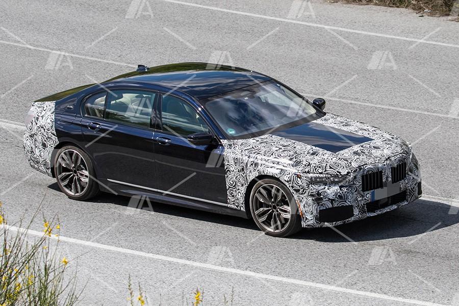 Fotos espía del renovado BMW Serie 7 2019