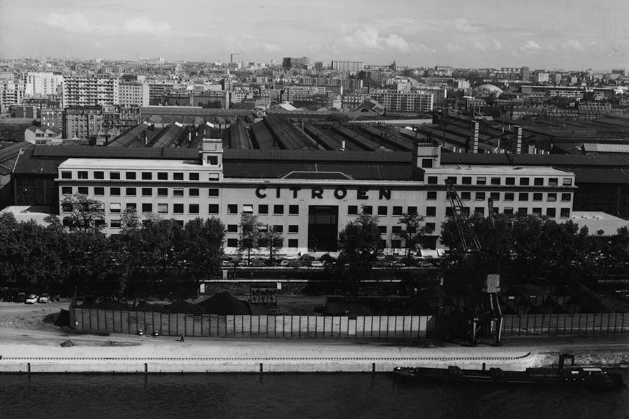 Antigua factoría de Citroën ubicada en Quai Javel.