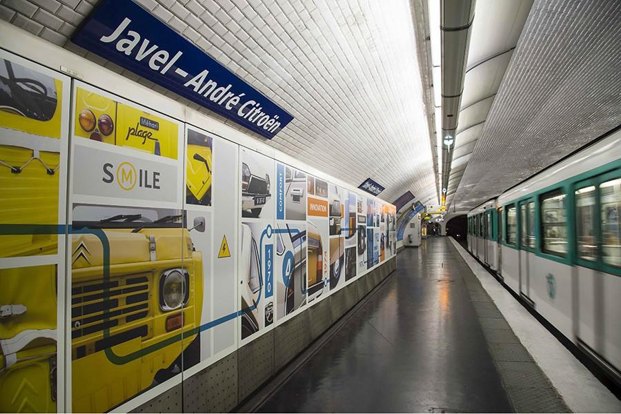 La estación de metro de París dedicada a Citroën