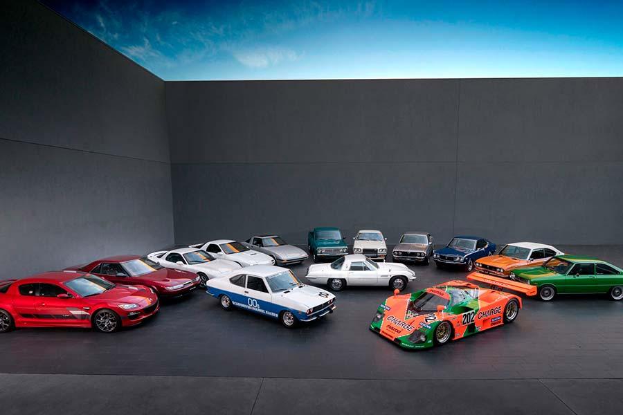 Todos los modelos Mazda con motor rotativo
