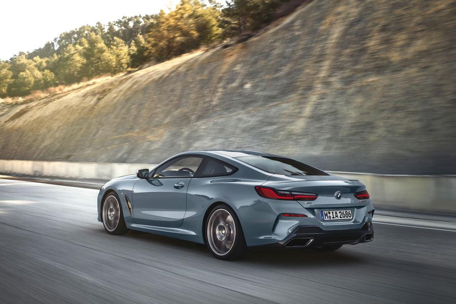 El nuevo BMW Serie 8 llegará al mercado en noviembre.