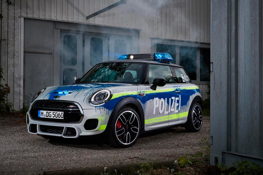 Mini JCW de policía: a multar con estilo