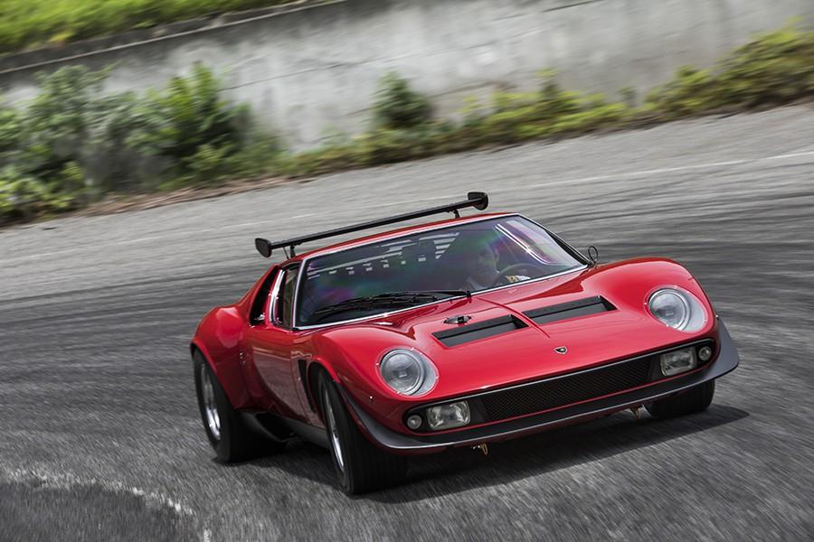 Renace el mítico Lamborghini Miura SVR