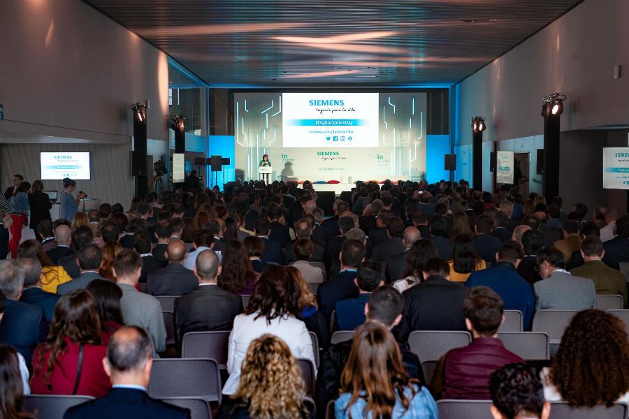 Digitalization Day by Siemens: el día de la tecnología en el Wanda Metropolitano