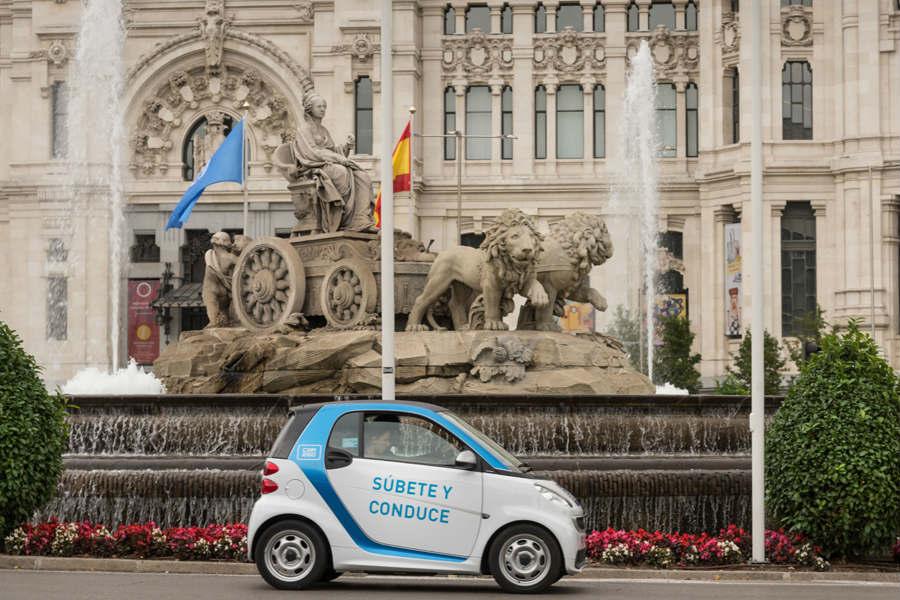 El carsharing es una alternaiva muy a tener en cuenta para todos los madrileños