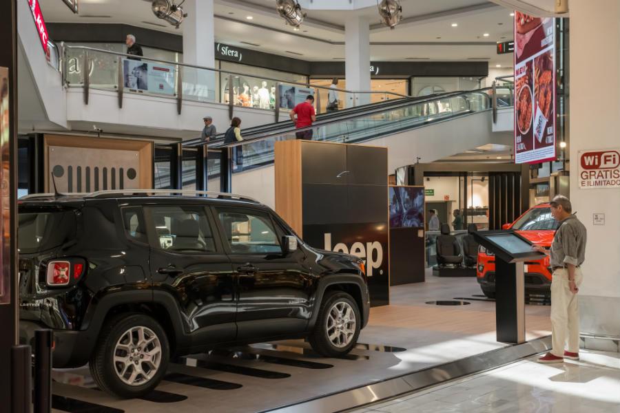 La Jeep Digital Store acogerá diferentes actividades