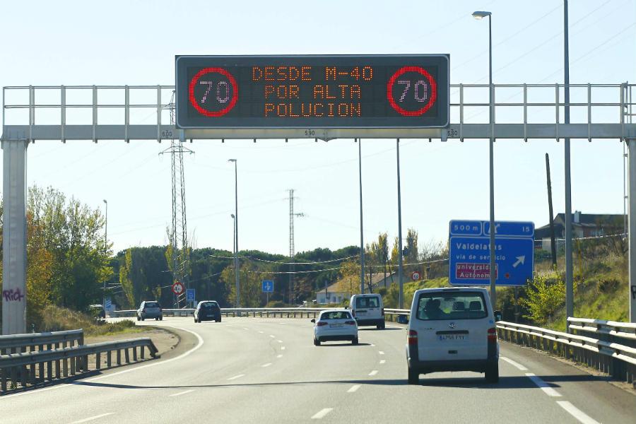 Madrid es una de las ciudades más castigadas por la contaminación