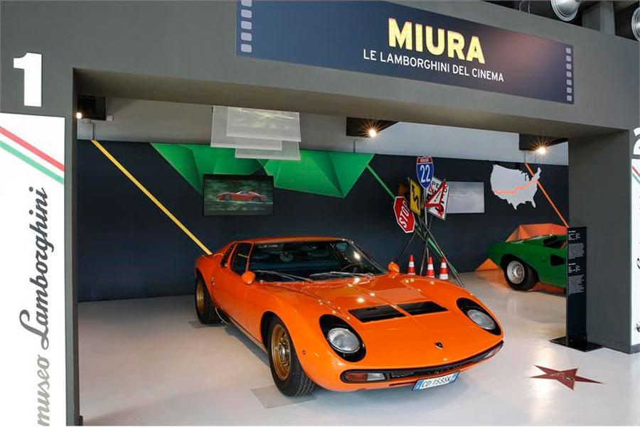 Miura de The Italian Job.
