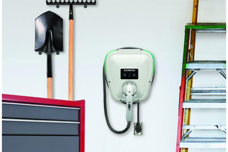 Siemens lanza el Versicharge, un nuevo punto de carga que se podrá instalar en casa