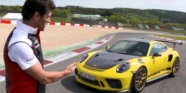 VÍDEO | Webber nos pone los dientes largos con el 911 GT3 RS