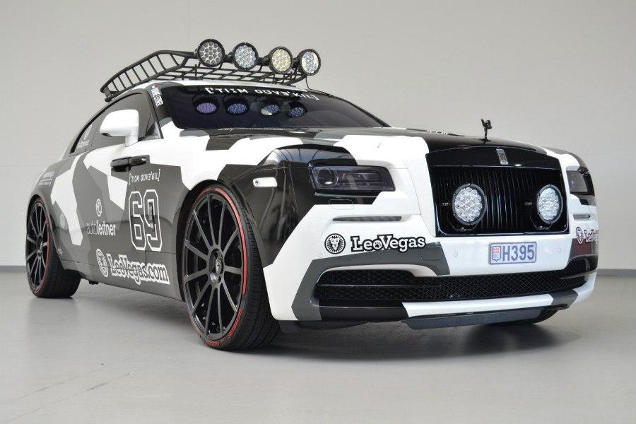 Rolls-Royce Wraith Battle Car: el lord se pone zapatillas