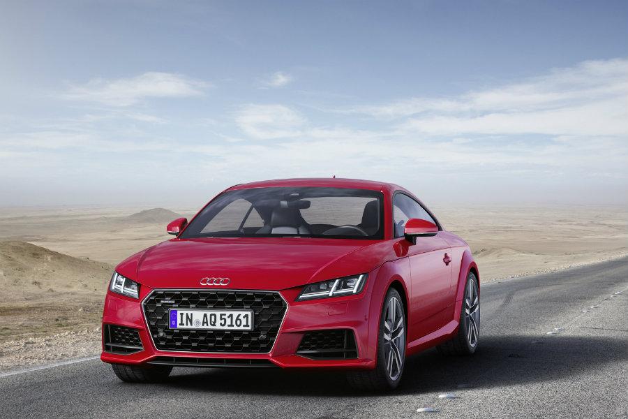 Audi TT 2019: El mini R8 se lava la cara