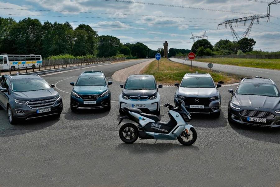 BMW, Ford, PSA y 5GAA hacen la primera demostración V2X