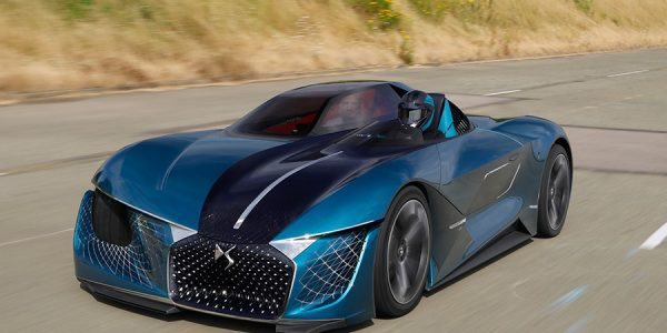 DS X Concept E-Tense: el futuro se muestra en casa