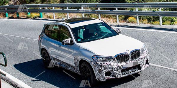 Fotos espía del BMW X3 M 2020