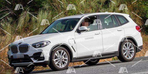 Fotos espía del BMW X3 iPerformance híbrido