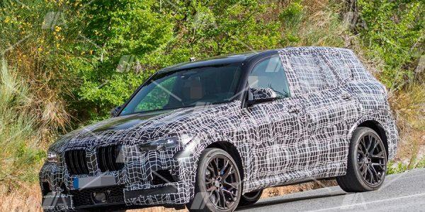 Fotos espía del nuevo BMW X5 M 2019
