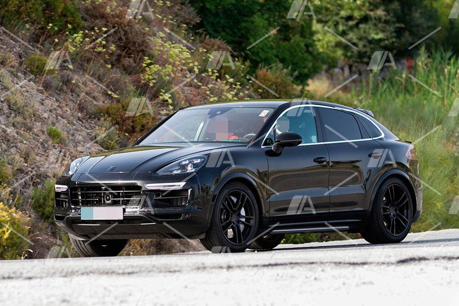 Primeras imágenes del nuevo Porsche Cayenne Coupé 2019