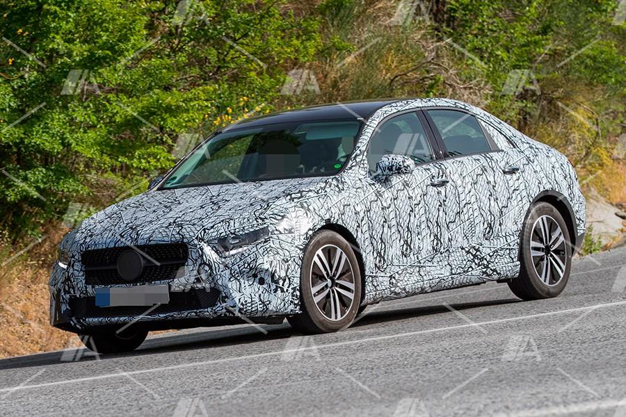 Primeras imágenes del nuevo Mercedes Clase A Sedán 2019