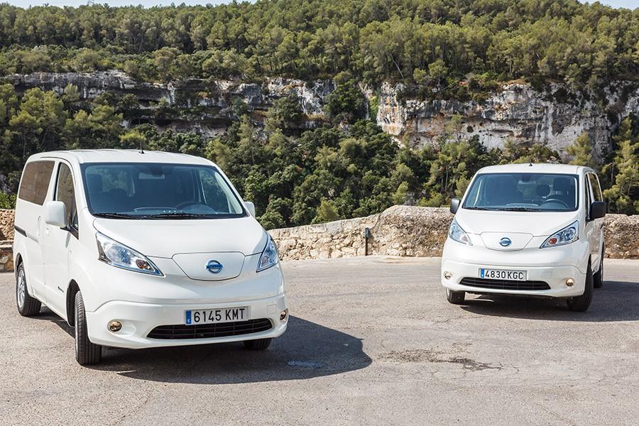 Nueva Nissan e-NV200 con más autonomía