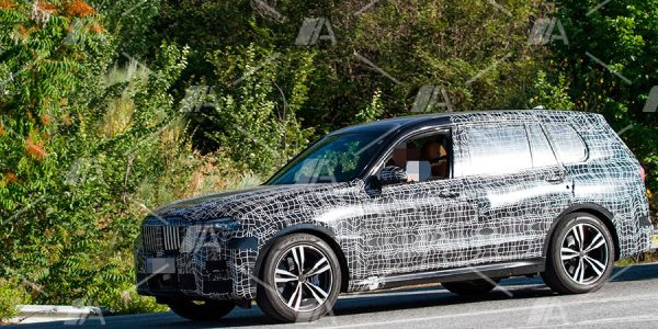 Primeras fotos espía del BMW X7 M50i xDrive 2019