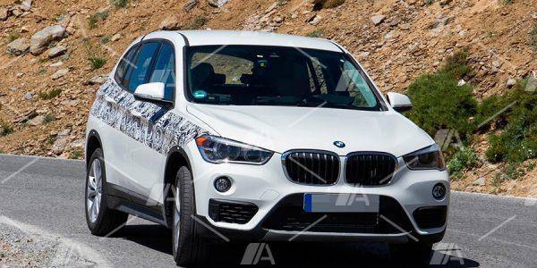 Primeras imágenes del BMW X1 híbrido enchufable 2019