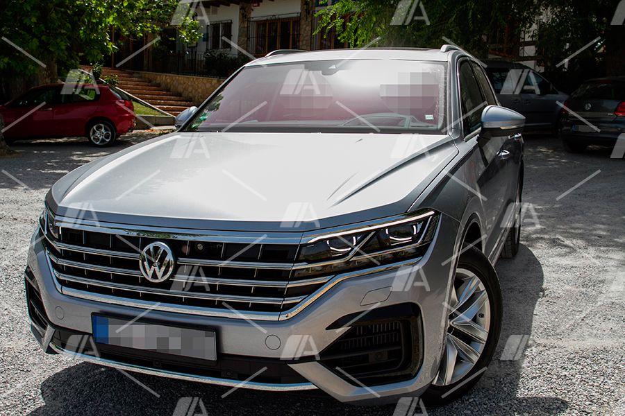 Primeras imágenes del nuevo VW Touareg híbrido 2019