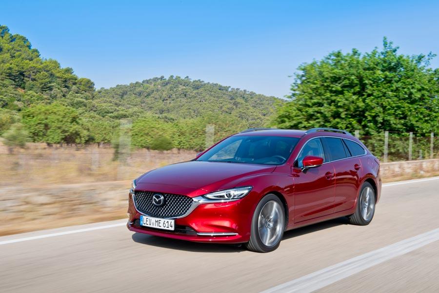 Primera prueba del nuevo Mazda6 2018
