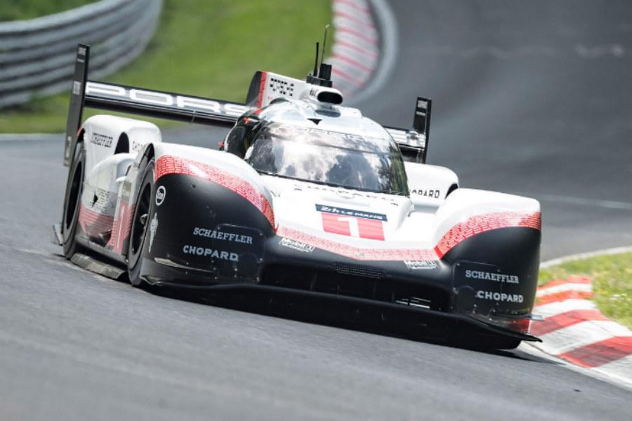 El Porsche no competirá por un tiempo, sino que simplemente rodará para exhibirse