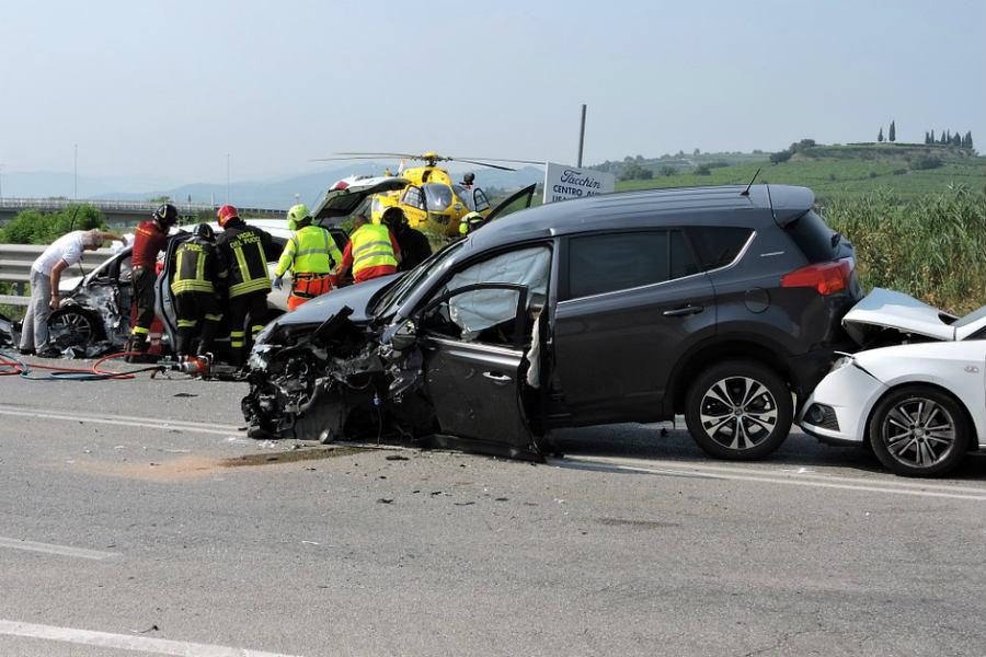 La agresividad al volante puede provocar accidentes con terceros
