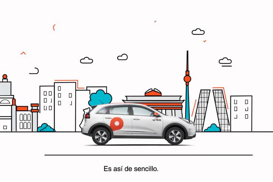 Wible: el nuevo servicio de carsharing se asienta en Madrid