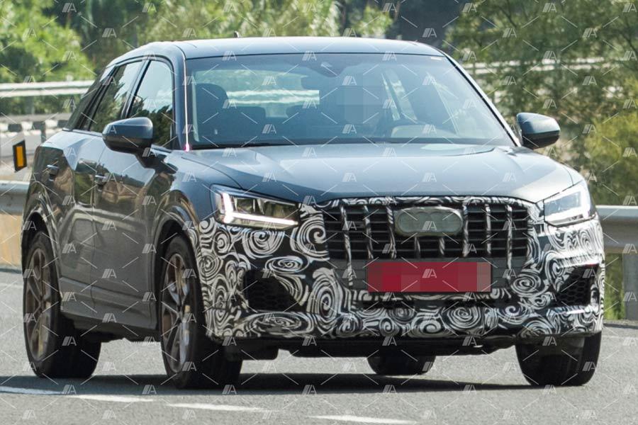 Fotos espía del Audi SQ2 2019: el pequeño SUV estrena versión deportiva