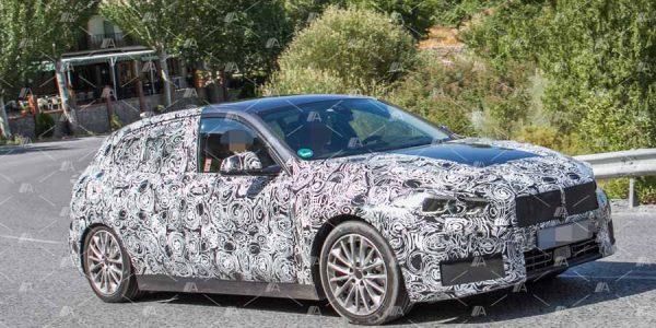 Te adelantamos todo sobre el BMW Serie 1 2019 con sus fotos espía