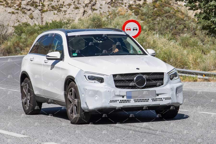 Desvelamos la cara del renovado Mercedes GLC 2019