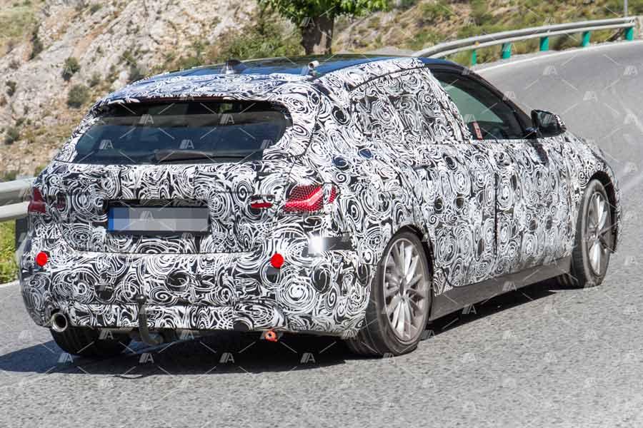 Fotos espía del BMW Serie 1 2019.