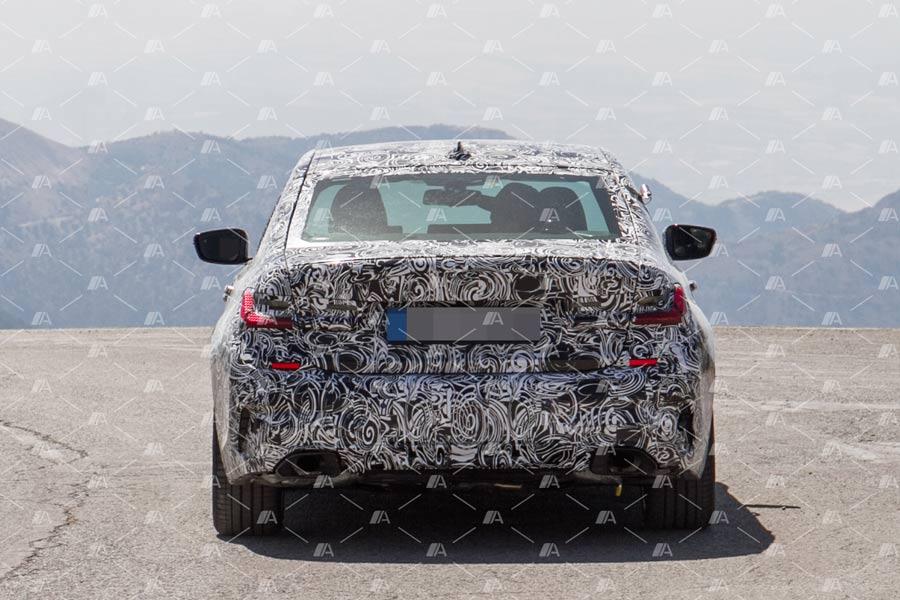 Fotos espía BMW M340i 2019