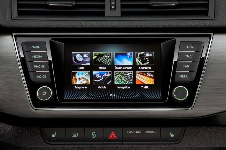La interfaz del sistema multimedia es nueva.