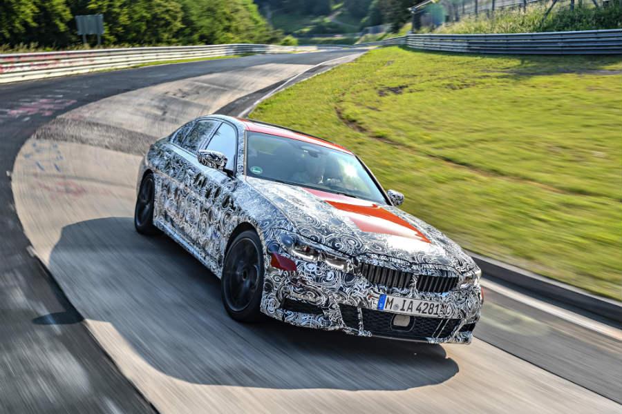 El BMW Serie 3 2019 se pone en forma en el Infierno Verde