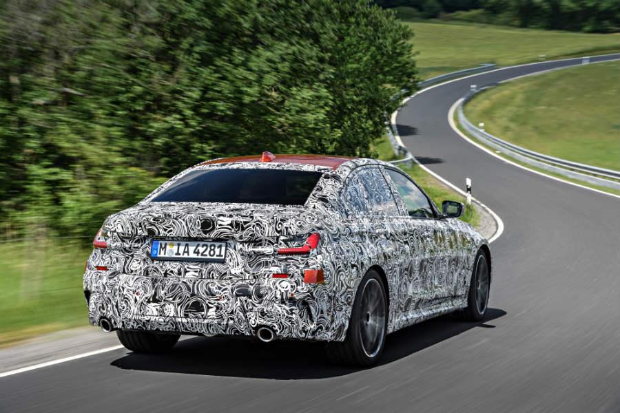 BMW está trabajando muy duro en la suspensión del nuevo Serie 3