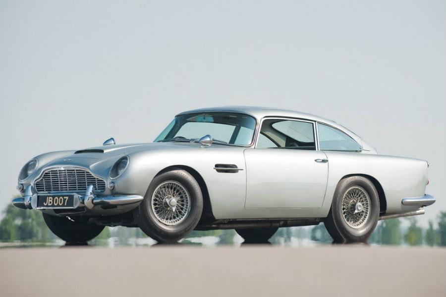 """Aston-Martin DB-5s: Siéntete James Bond por """"tan sólo"""" 3,5 millones de dólares"""