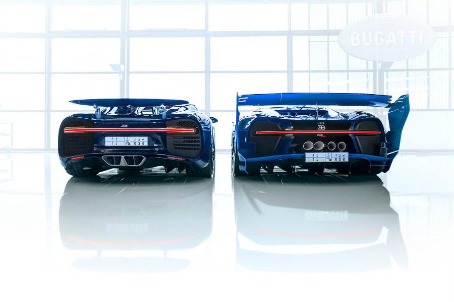 Las dos unidades del Chiron compradas por el jeque son las más exclusivas que existen del modelo
