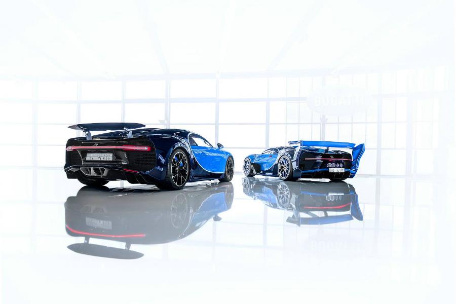 ¿Hay algún Bugatti Chiron? ¡Ponme dos!